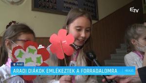 Embedded thumbnail for Március 15-i megemlékezés a Csiky Gergely Főgimnáziumban