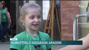 Embedded thumbnail for Kuruttyoló kisdiákok Aradon
