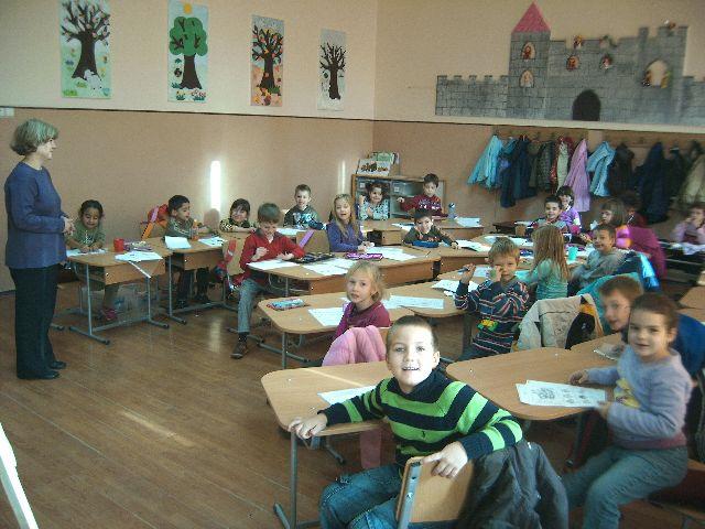 A mostani előkészítő osztály a Csiky Gergely Főgimnáziumban