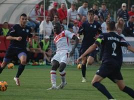 A szenegáli Ousmane két gólt szerzett. Fotó: sportarad.ro
